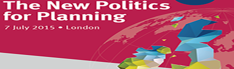 The new politics for planning